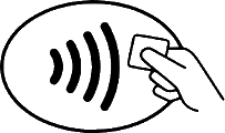 contactless image for paying