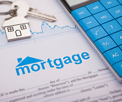 A bank mortgage application form